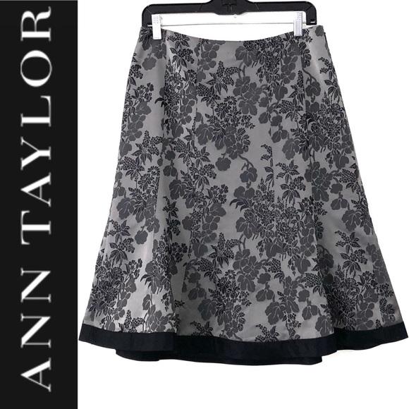 6844ffc14 Ann Taylor Skirts | Silk Brocade Skirt | Poshmark